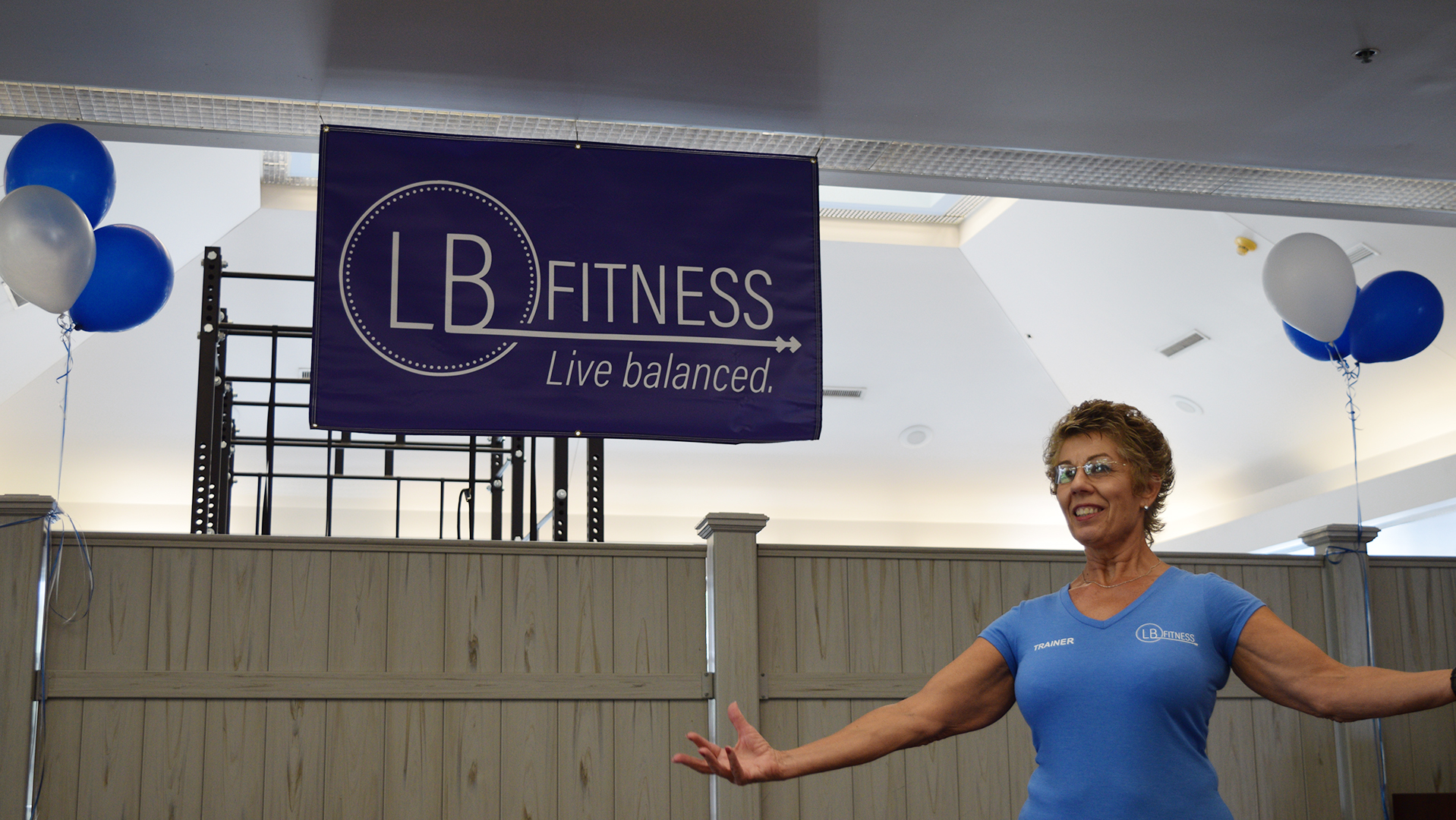 Lyn Berlingeri introduces her personal training business, LB Fitness.