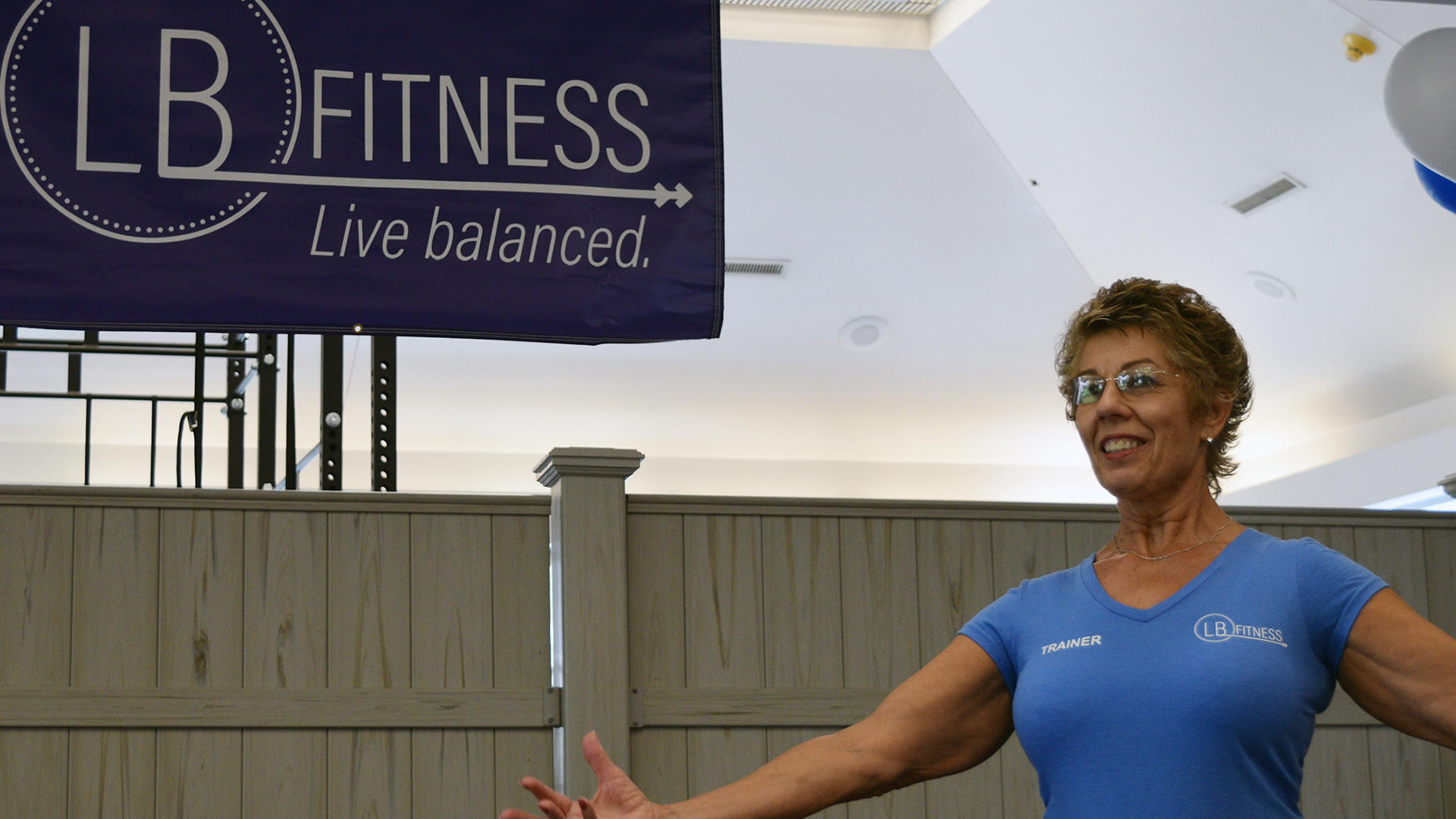 Personal training grand opening