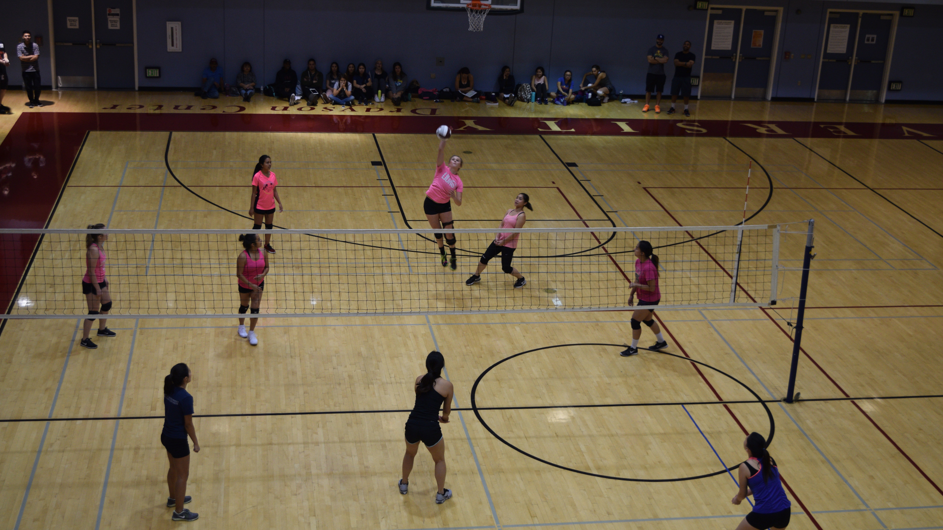 Women's volleyball match