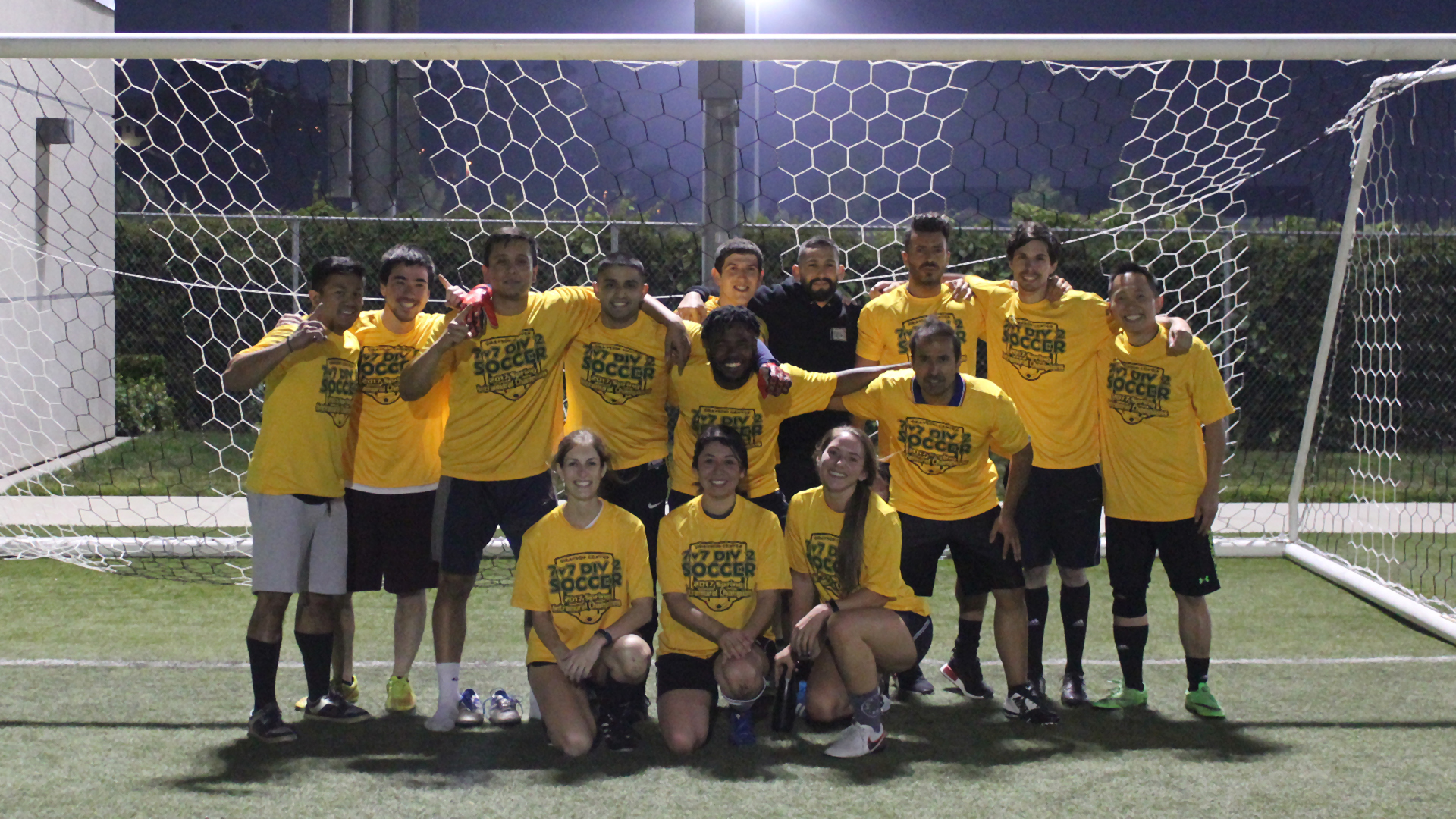 Co-rec short soccer 7x7 winners spring 2017