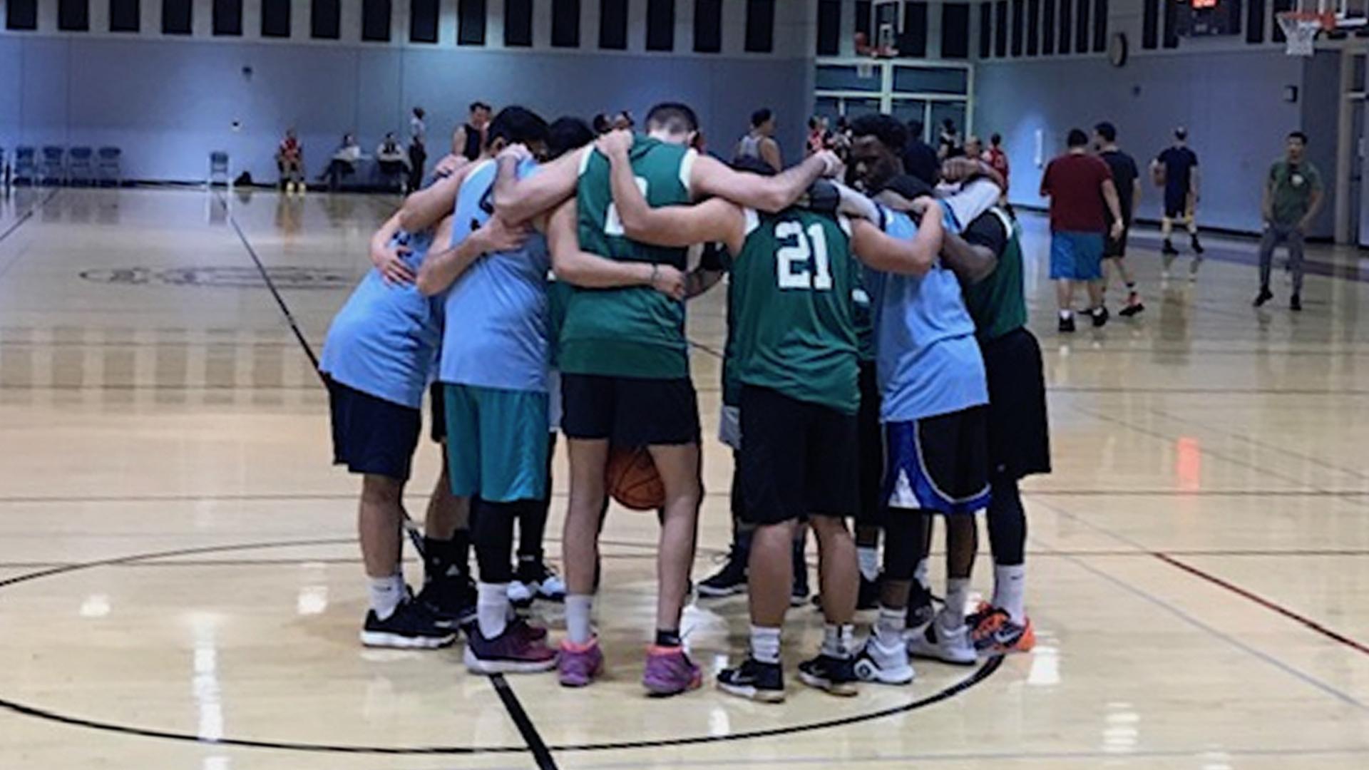 Pre-basketball Prayer