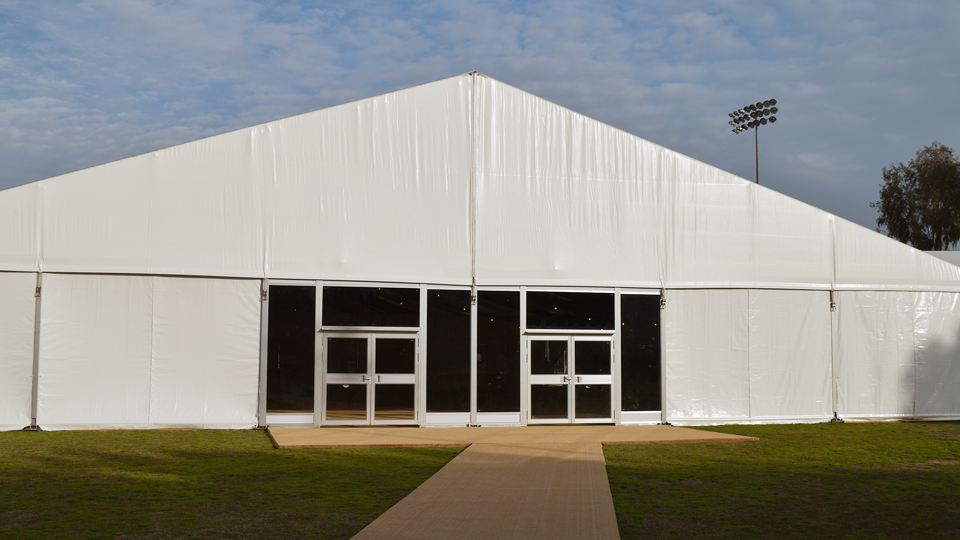 Homecoming 2019 tent