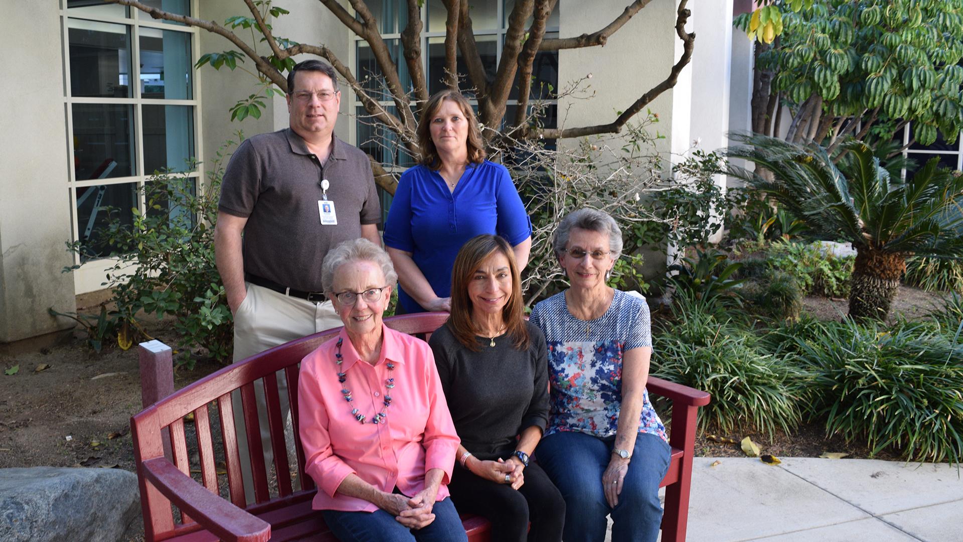 SAPC original members and program coordinators