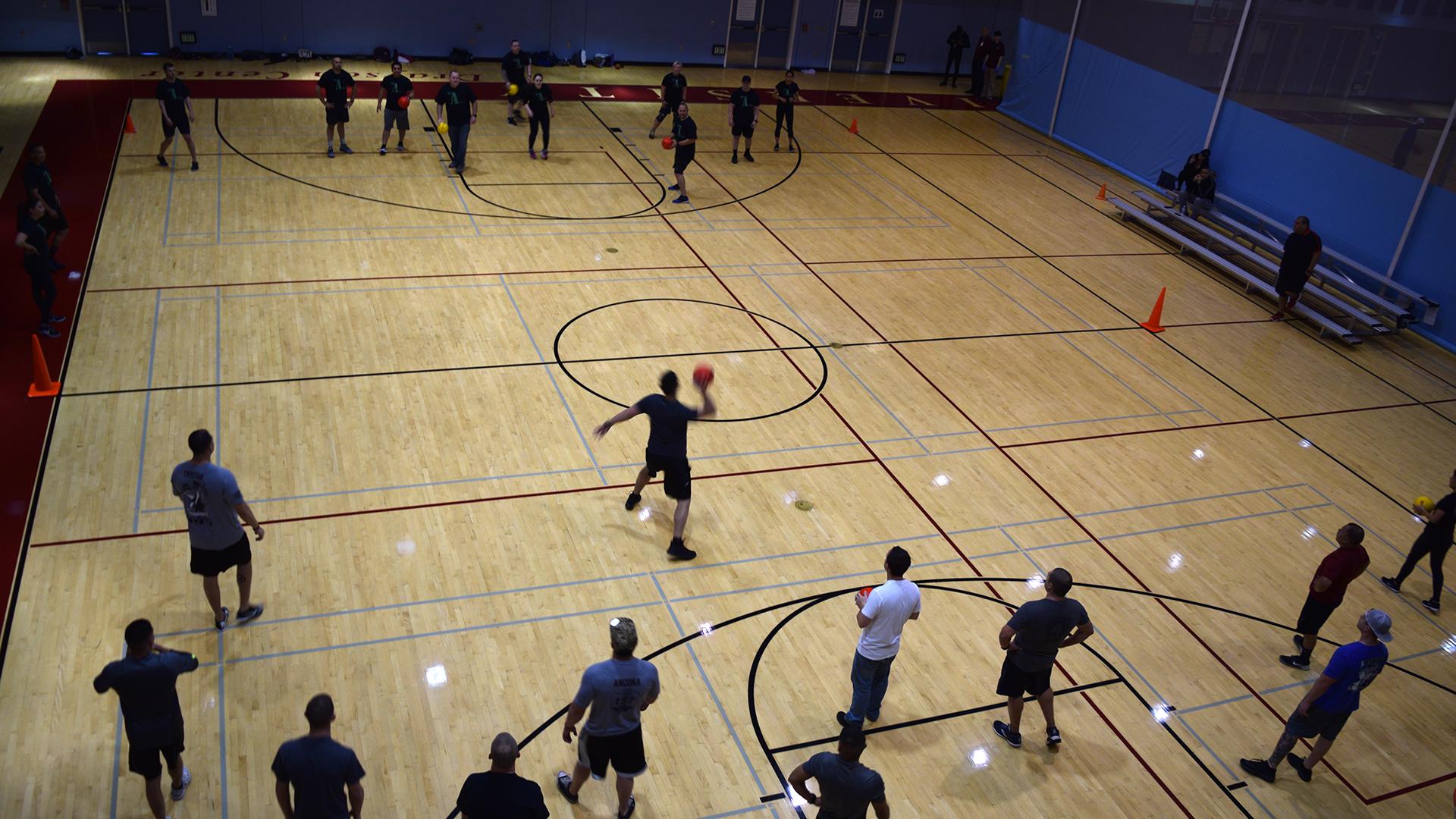 SBC Sheriff's Dodgeball Game