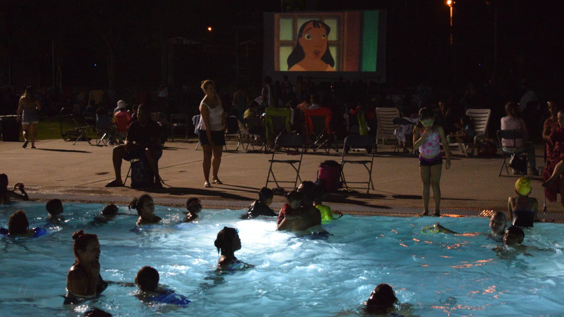 Swim-N-Cinema