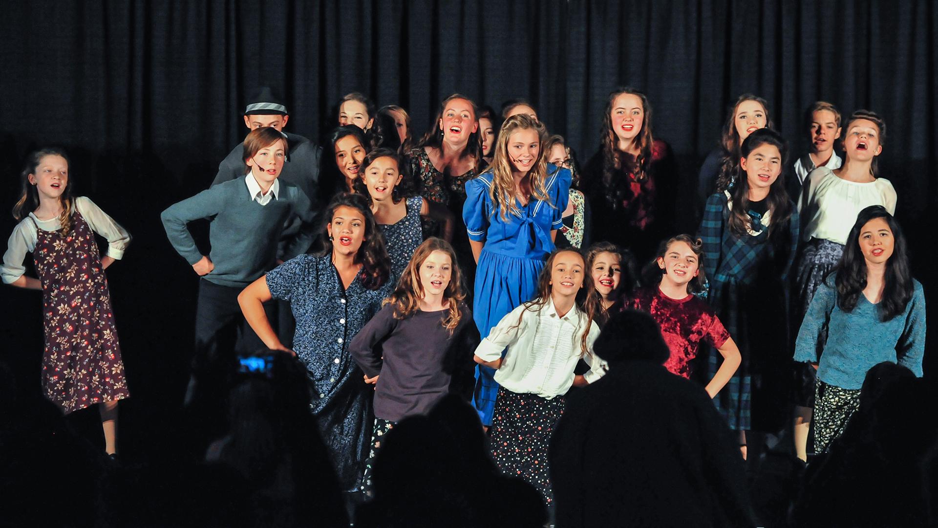 Team Broadway show