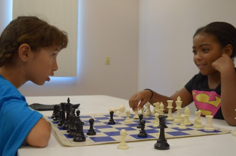 Young chess wizards hone their moves at Drayson