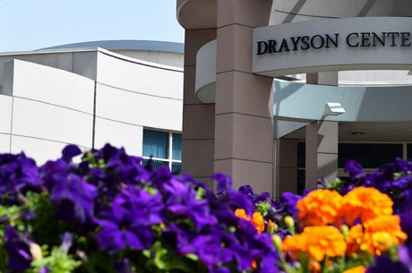 Drayson Center — reopening outdoor facilities Oct. 21