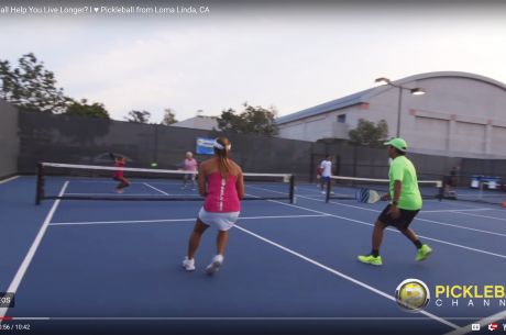 Pickleball Channel features Loma Linda club at Drayson Center